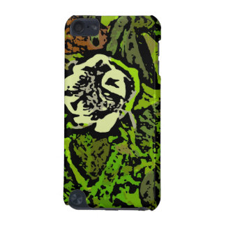 Flower Power in Green iPod Touch 5G Cover