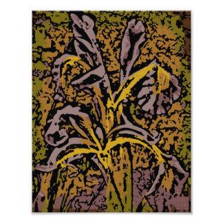 Flower Power in Lavender Art Photo
