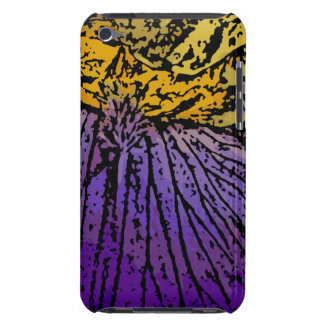 Flower Power in Purple and Yellow iPod Touch Case