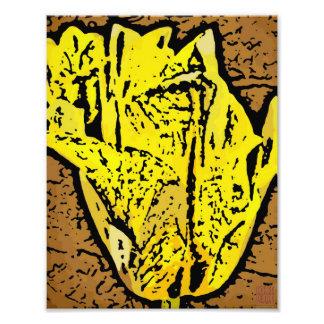 Flower Power in yellow Photo