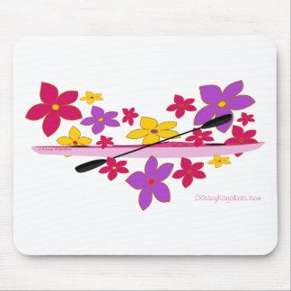 Flower Power Kayak Mouse Mat