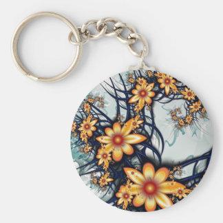 Flower Power Key Chain