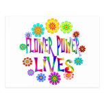 Flower Power Lives Post Cards