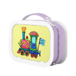 Flower Power Locomotive Lunchboxes