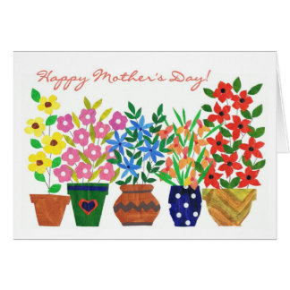 Flower Power Mother's Day Card