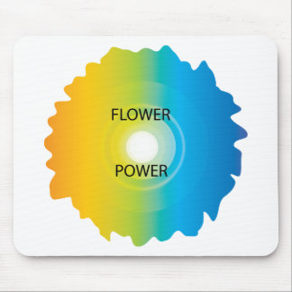 flower power mouse pads