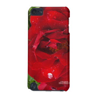 Flower Power & Nature iPod Touch Case - Red Rain R