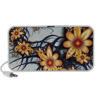 Flower Power Notebook Speakers