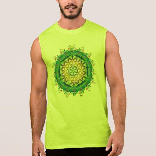 Flower Power of Life / Blume des Lebens Sleeveless T-shirts