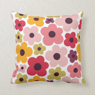 Flower Power Pattern Cushion