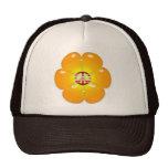 Flower Power Peace Sign Cap