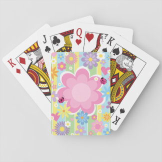 Flower Power Playing Cards