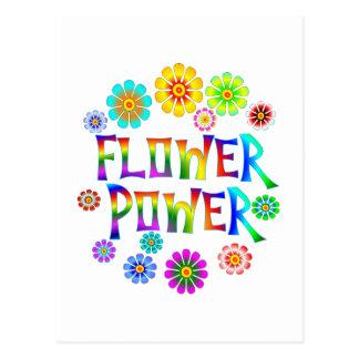 FLOWER POWER POST CARD