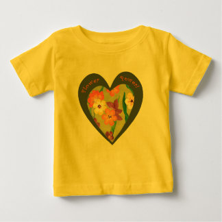 Flower Power retro heart for the new generation Shirt