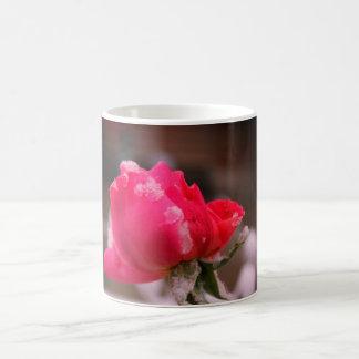 Flower Power - Snow Rose Coffee Mug