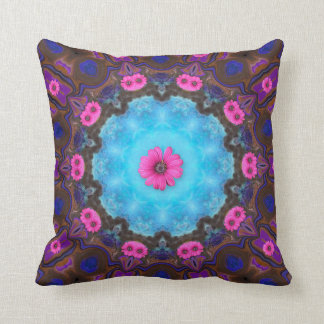 Flower Power. Throw Pillow