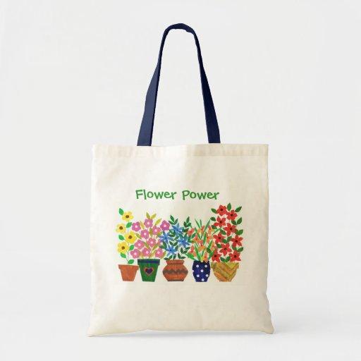 'Flower Power' Tote Bag