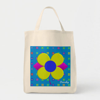 Flower-Power- tote Bag