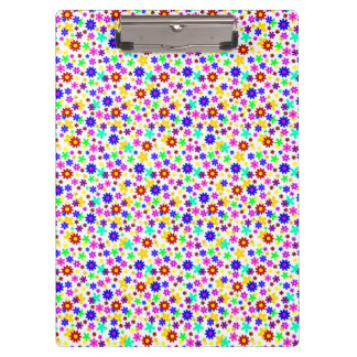 FLOWER POWER transparent (pick a background color) Clipboards