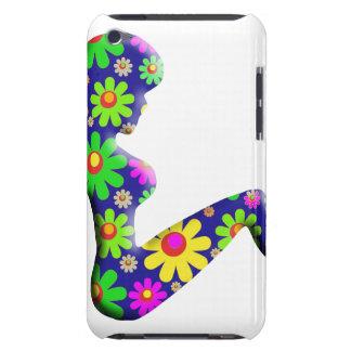 Flower Power Trucker Girl Case-Mate iPod Touch Case