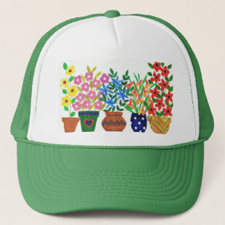 'Flower Power' Trucker Hat