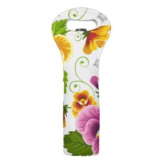 Flower Power Wine Bag