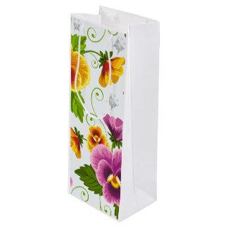 Flower Power Wine Gift Bag