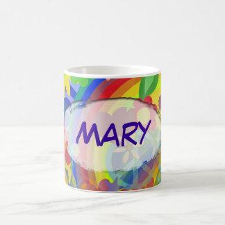 Flower Power & your name Coffee Mug