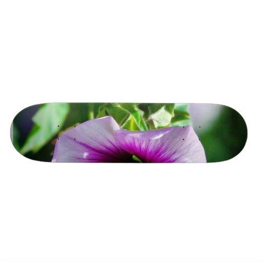 Flower Purple Beautiful Skate Deck