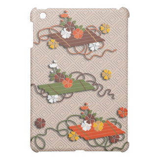 Flower rafts japanese pattern iPad mini cover