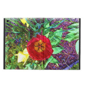 Flower red Tulip drawing Powis iPad Air 2 Case