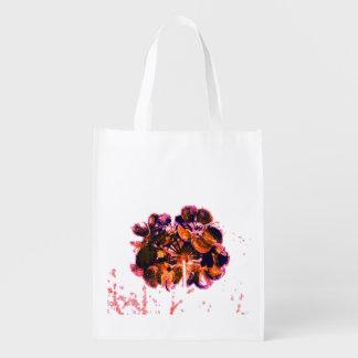 Flower Reusable Grocery Bag
