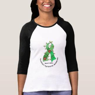 Flower Ribbon 1 Tourette's Syndrome T-Shirt