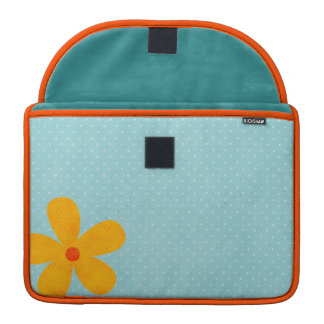 Flower Rickshaw Flap Sleeve Sleeve For MacBooks
