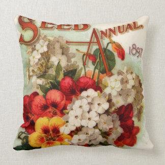 Flower Seed Annual DM Ferry Cushion