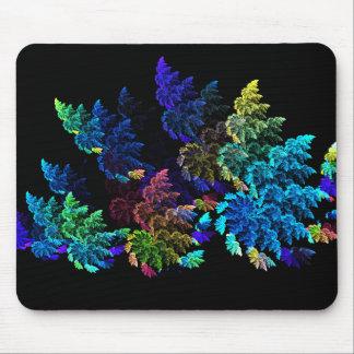 Flower shrubs mouse mat