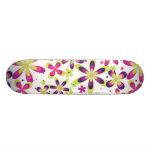 Flower Skate Deck