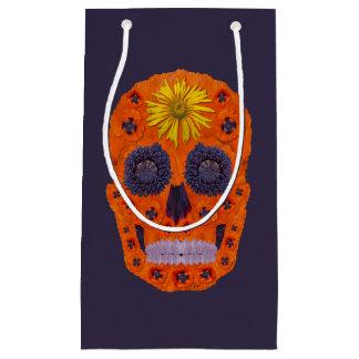Flower Skull 1 Small Gift Bag