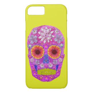 Flower Skull 2 iPhone 7 Case