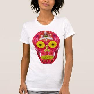 Flower Skull 6 T-Shirt