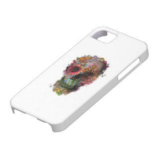 Flower Skull Candy Phone Case iPhone 5 Cover