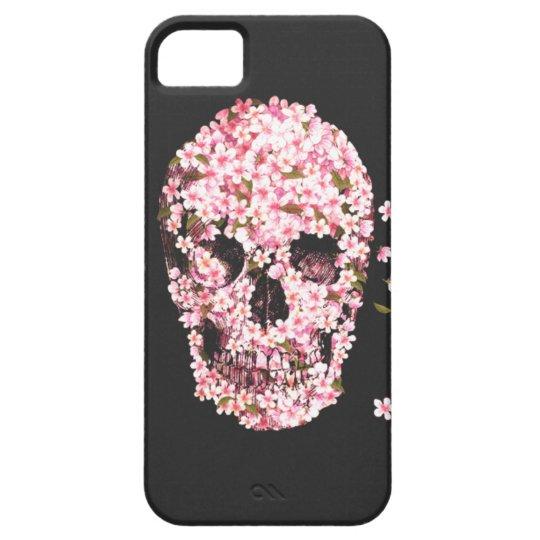 Flower Skull Iphone 5/5S Case