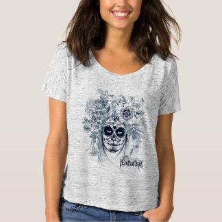 Flower Skull Mexican T-Shirt