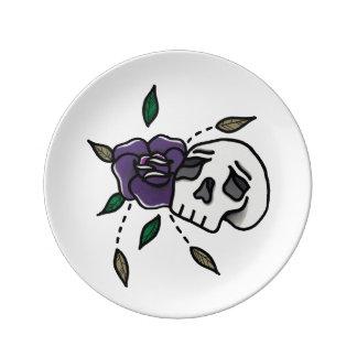 Flower // Skull Plate. Plate