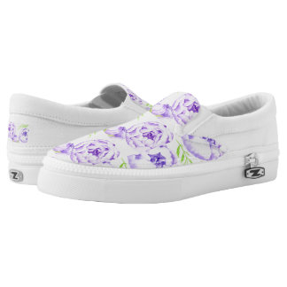 Flower Slip-On Shoes