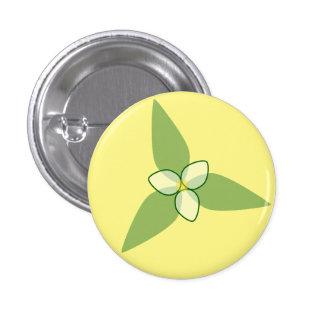 flower Small, 1¼ Inch Round Button