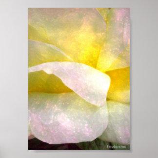 flower sparkle pinkie poster