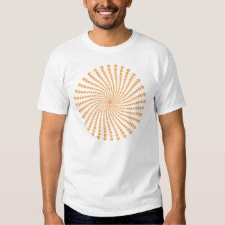 Flower Spiral Design: Vector Artwork: Tshirts