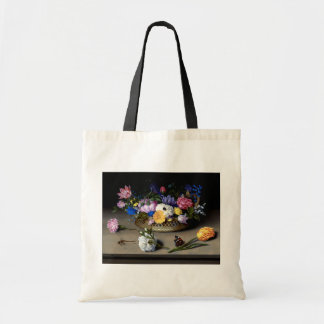 Flower Still Life Classic Painting Tote Bag