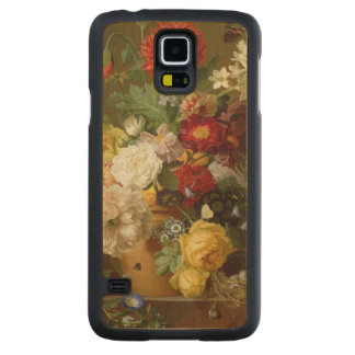 Flower Still Life on a marble ledge, 1800-01 Maple Galaxy S5 Slim Case